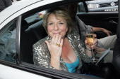 Fern Britton sighting on July 17 2009 in London England It was Fern Britton's last time presenting 'This Morning'