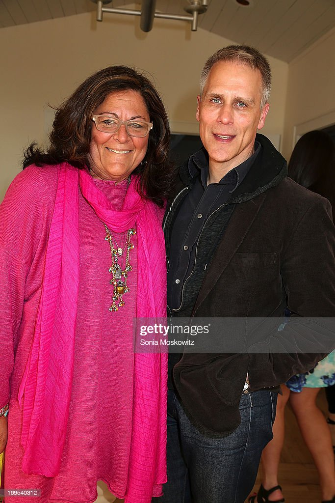 <a gi-track='captionPersonalityLinkClicked' href=/galleries/search?phrase=Fern+Mallis&family=editorial&specificpeople=201774 ng-click='$event.stopPropagation()'>Fern Mallis</a> and Dan Scheffey attend Haley & Jason Binn's Annual DuJour Summer Kick Off Soiree with The Borgata Hotel & Casino at Bridgehampton Tennis and Surf Club on May 26, 2013 in Bridgehampton, New York.