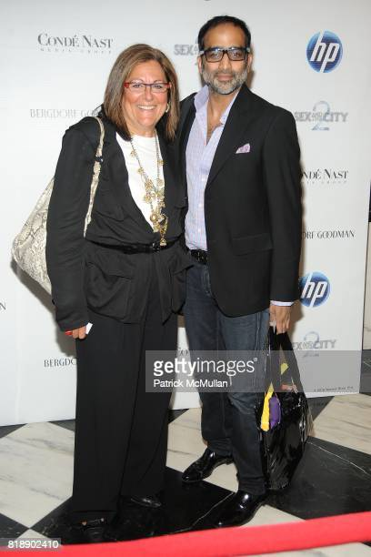 Fern Mallis and Sujal Shah attend HP and COND… NAST Screening of 'Sex the City 2' at Paris Theater on May 25 2010 in New York City