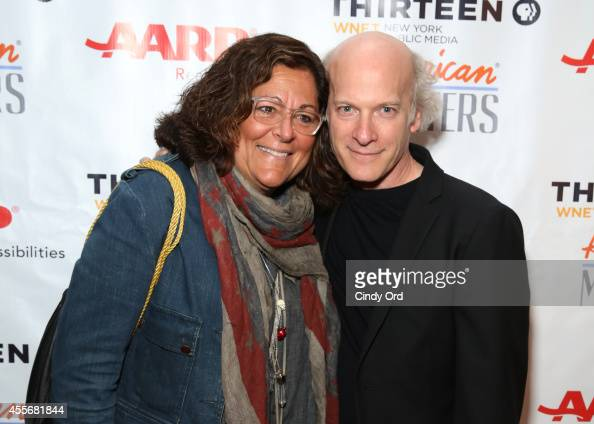 Fern Mallis and Timothy GreenfieldSanders attend American Masters The Boomer List NYC Premiere on September 18 2014 in New York City