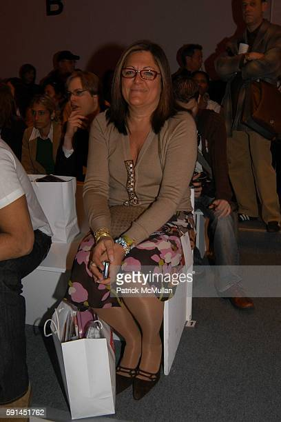 Fern Mallis attends Child Magazine Fashion Show at The Atelier Tent at Bryant Park on February 7 2005 in New York City