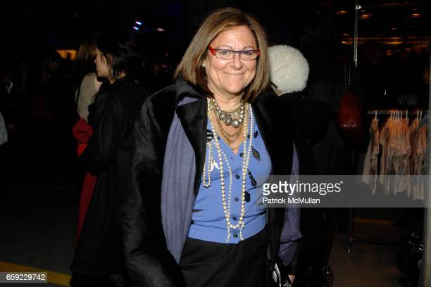 Fern Mallis attends McQ Alexander McQueen for Target Debuts TARGET McQ MARKET in NYC at St John's Center on February 13 2009 in New York City