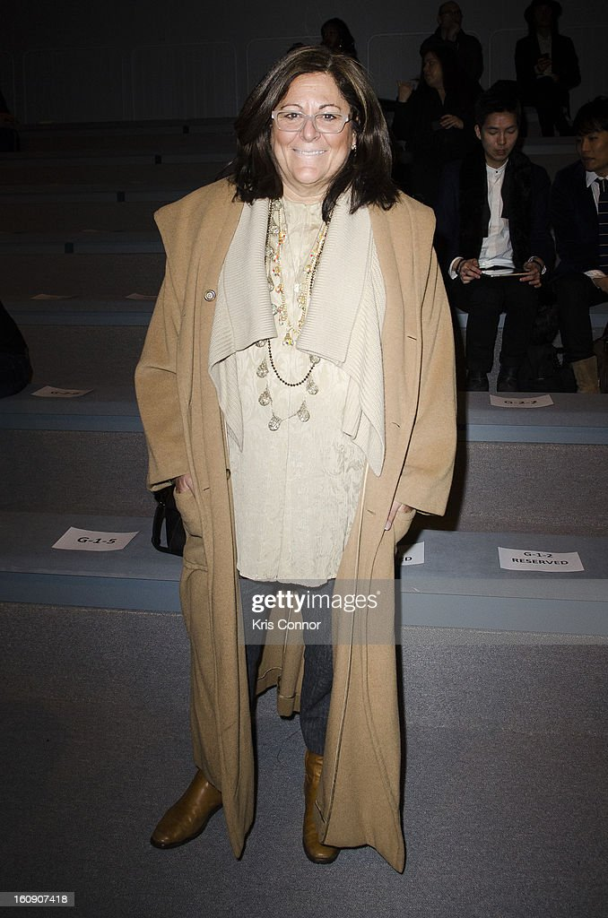 Fern Mallis attends the Concept Korea Fall 2013 Mercedes-Benz Fashion Show at The Stage at Lincoln Center on February 7, 2013 in New York City.
