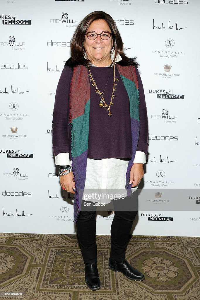 Fern Mallis attends the 'Dukes Of Melrose' Premiere at 583 Park Avenue on March 5, 2013 in New York City.