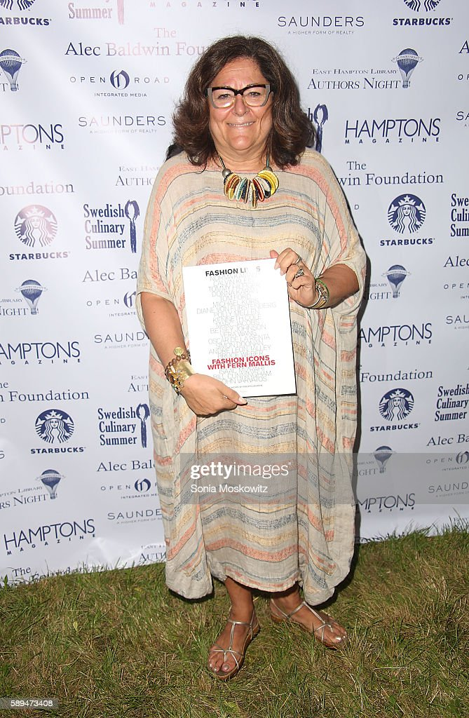 Fern Mallis attends the East Hampton Library's 12th Annual Authors Night Benefit on August 13, 2016 in East Hampton, New York.