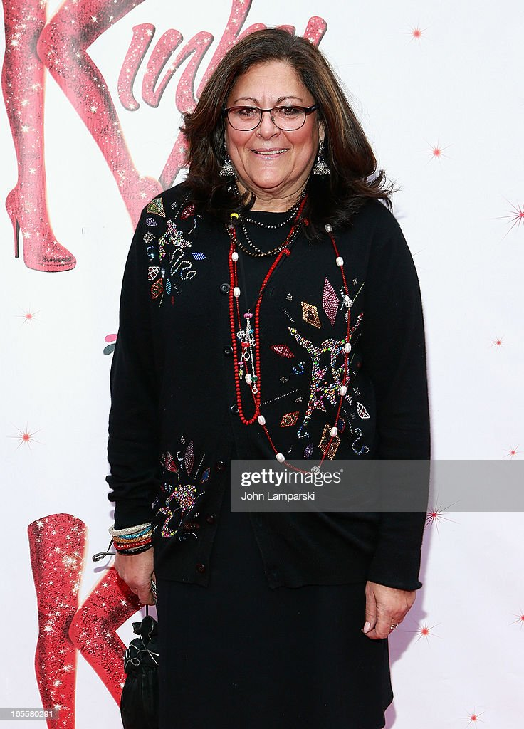 Fern Mallis attends the 'Kinky Boots' Broadway Opening Night at the Al Hirschfeld Theatre on April 4, 2013 in New York City.