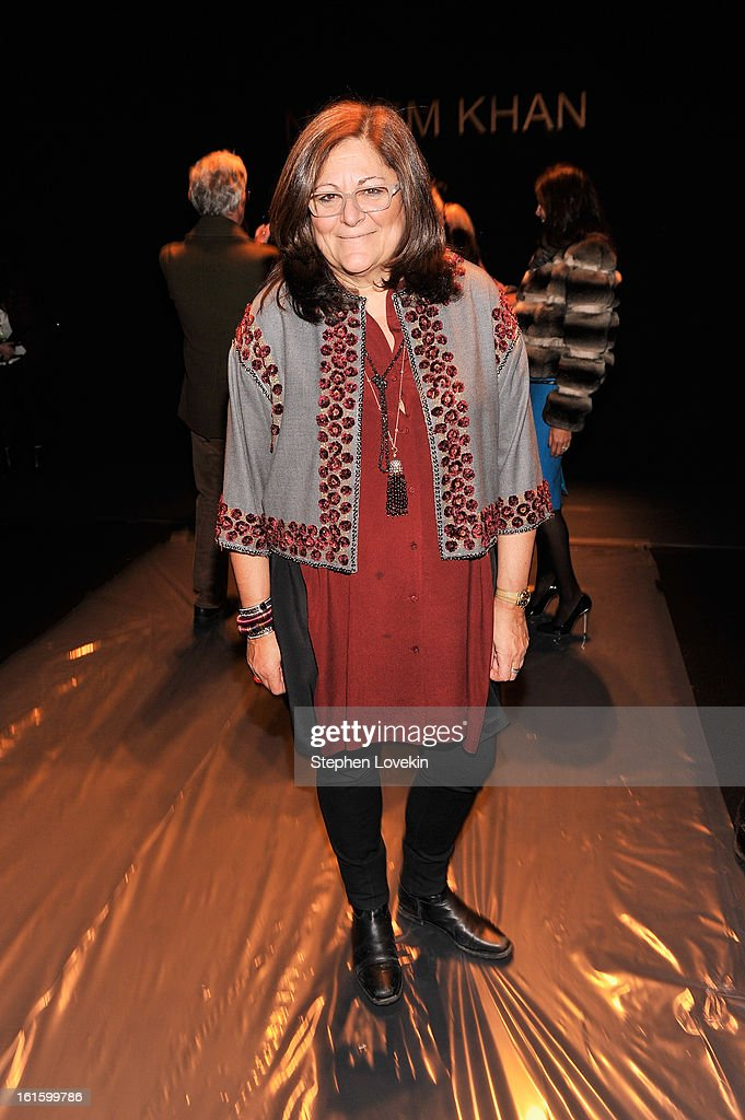 Fern Mallis attends the Naeem Khan Fall 2013 fashion show during Mercedes-Benz Fashion Week at The Theatre at Lincoln Center on February 12, 2013 in New York City.