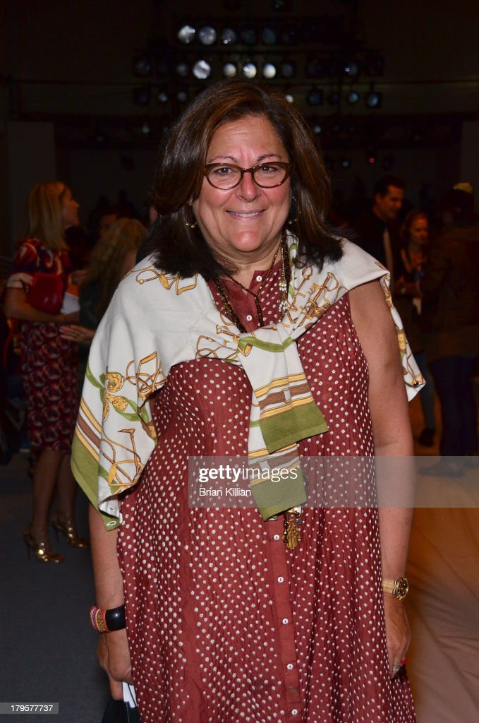 <a gi-track='captionPersonalityLinkClicked' href=/galleries/search?phrase=Fern+Mallis&family=editorial&specificpeople=201774 ng-click='$event.stopPropagation()'>Fern Mallis</a> attends the Richard Chai -- Love & Richard Chai Men's show during Spring 2014 Mercedes-Benz Fashion Week at The Stage at Lincoln Center on September 5, 2013 in New York City.