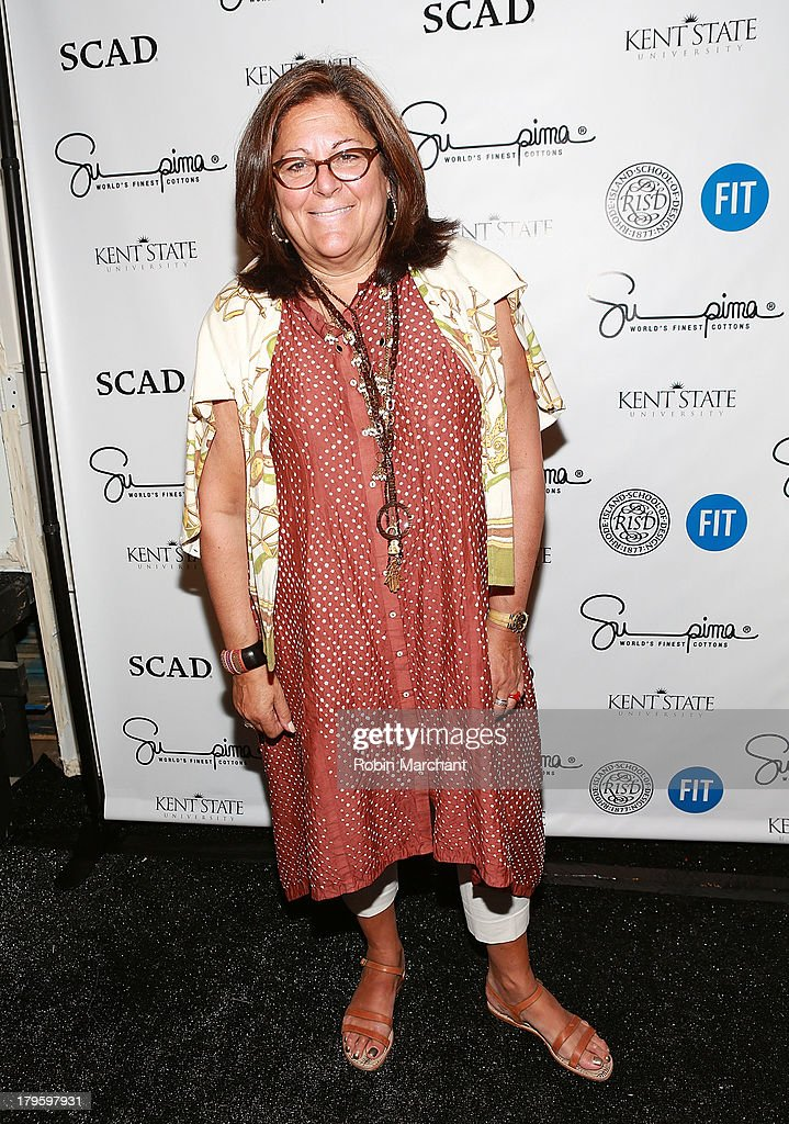 <a gi-track='captionPersonalityLinkClicked' href=/galleries/search?phrase=Fern+Mallis&family=editorial&specificpeople=201774 ng-click='$event.stopPropagation()'>Fern Mallis</a> attends the Supima show during Spring 2014 Mercedes-Benz Fashion Week at The Studio at Lincoln Center on September 5, 2013 in New York City.