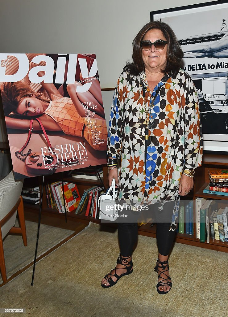 Fern Mallis attends the The Daily's Summer premiere party at the Smyth Hotel on June 2, 2016 in New York City.