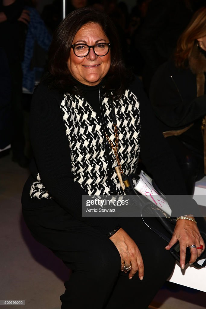 Fern Mallis, attends TRESemme at Marissa Webb A/W16 Runway Show at The Gallery, Skylight at Clarkson Sq on February 11, 2016 in New York City.