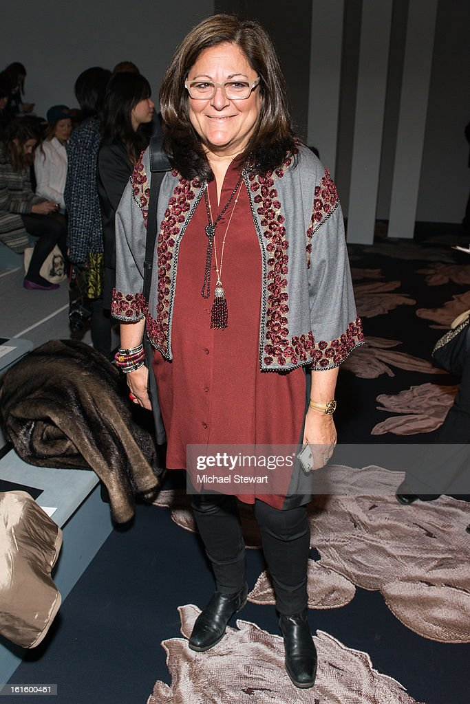 Fern Mallis attends Vera Wang during fall 2013 Mercedes-Benz Fashion Week at The Stage at Lincoln Center on February 12, 2013 in New York City.