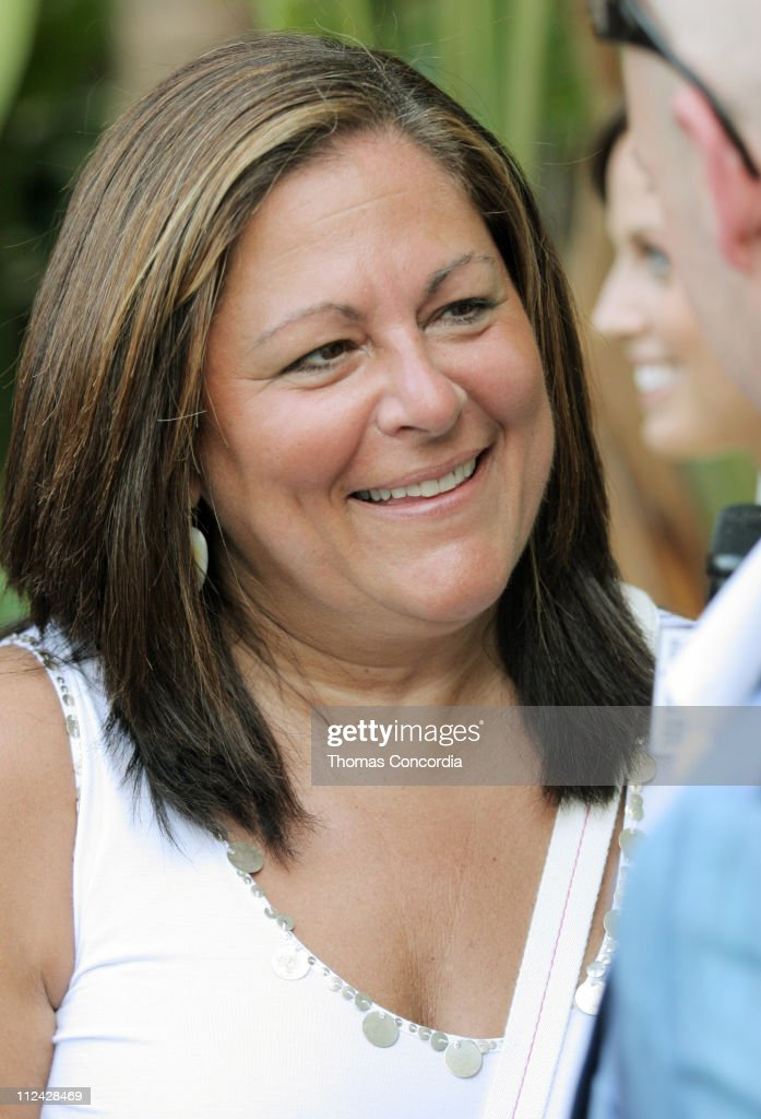 Fern Mallis during Sunglass Hut Swim Shows Miami Presented by LYCRA - Welcome Reception at Raleigh Hotel in Miami Beach, Florida, United States.