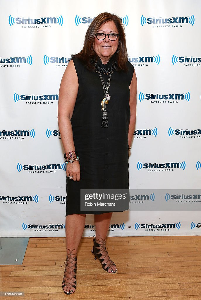 <a gi-track='captionPersonalityLinkClicked' href=/galleries/search?phrase=Fern+Mallis&family=editorial&specificpeople=201774 ng-click='$event.stopPropagation()'>Fern Mallis</a> visits at SiriusXM Studios on July 31, 2013 in New York City.