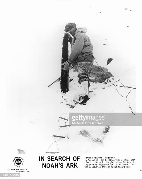 Fernamd Navarra Engineer In August of 1955 he discovered a large boat like structure in the glacier on Mt Ararat from the documentary film 'In Search...