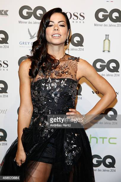Fernanda Brandao arrives at the GQ Men of the Year Award 2014 at Komische Oper on November 6 2014 in Berlin Germany