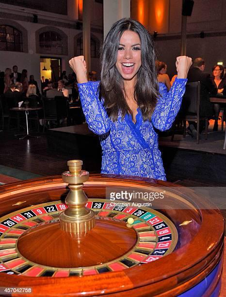 Fernanda Brandao attends Gamblers Night of Christoph Metzelder Foundation at Hagenbecks Dressurhalle on October 10 2014 in Hamburg Germany