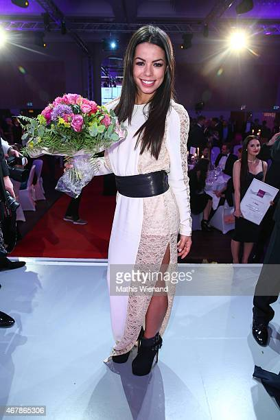 Fernanda Brandao attends the Gloria Deutscher Kosmetikpreis 2015 at Hilton Hotel on March 27 2015 in Duesseldorf Germany