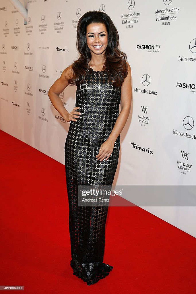 Fernanda Brandao attends the Riani show during Mercedes-Benz Fashion Week Autumn/Winter 2014/15 at Brandenburg Gate on January 14, 2014 in Berlin, Germany.