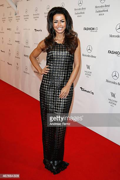 Fernanda Brandao attends the Riani show during MercedesBenz Fashion Week Autumn/Winter 2014/15 at Brandenburg Gate on January 14 2014 in Berlin...