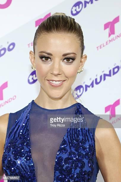 Fernanda Castillo attends Telemundo's 'Premios Tu Mundo Awards' 2015 at American Airlines Arena on August 20 2015 in Miami Florida