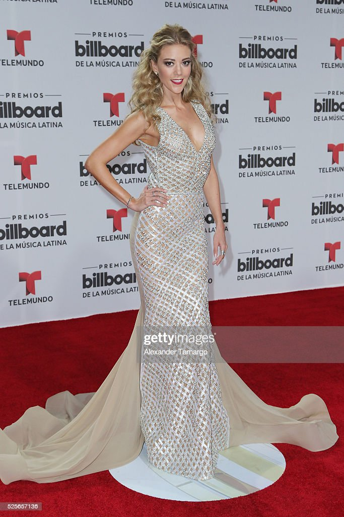 Fernanda Castillo attends the Billboard Latin Music Awards at Bank United Center on April 28, 2016 in Miami, Florida.