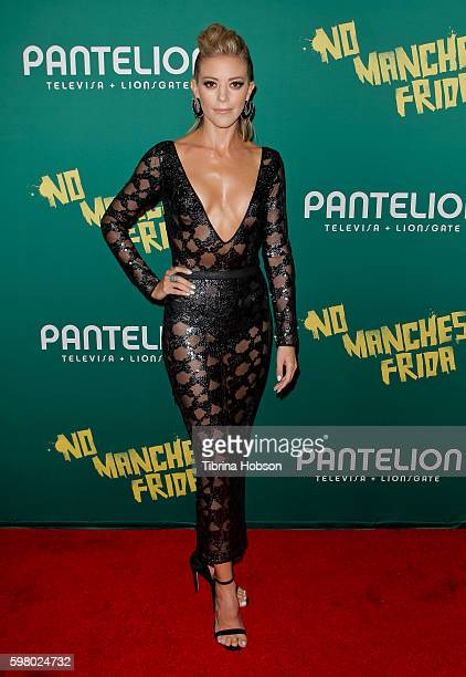 Fernanda Castillo attends the premiere of Pantelion Films 'No Manches Frida' at Regal LA Live Stadium 14 on August 30 2016 in Los Angeles California