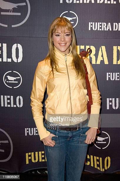 Fernanda del Castillo during 'Fuera Del Cielo' Mexico City Premiere Red Carpet at Cinemex Antara in Mexico City Mexico City Mexico