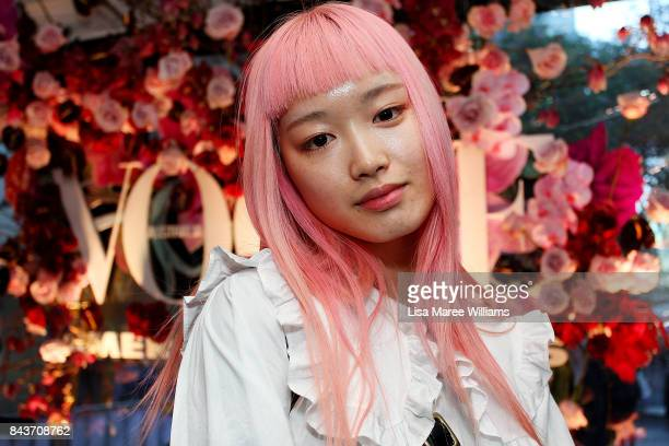 Fernanda Ly attends the launch of Vogue American Express Fashion's Night Out 2017 on September 7 2017 in Sydney Australia