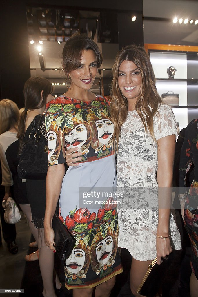<a gi-track='captionPersonalityLinkClicked' href=/galleries/search?phrase=Fernanda+Motta&family=editorial&specificpeople=574877 ng-click='$event.stopPropagation()'>Fernanda Motta</a> and Bianca Brandolini attends Dolce&Gabbana cocktail party on April 9, 2013 in Sao Paulo, Brazil.