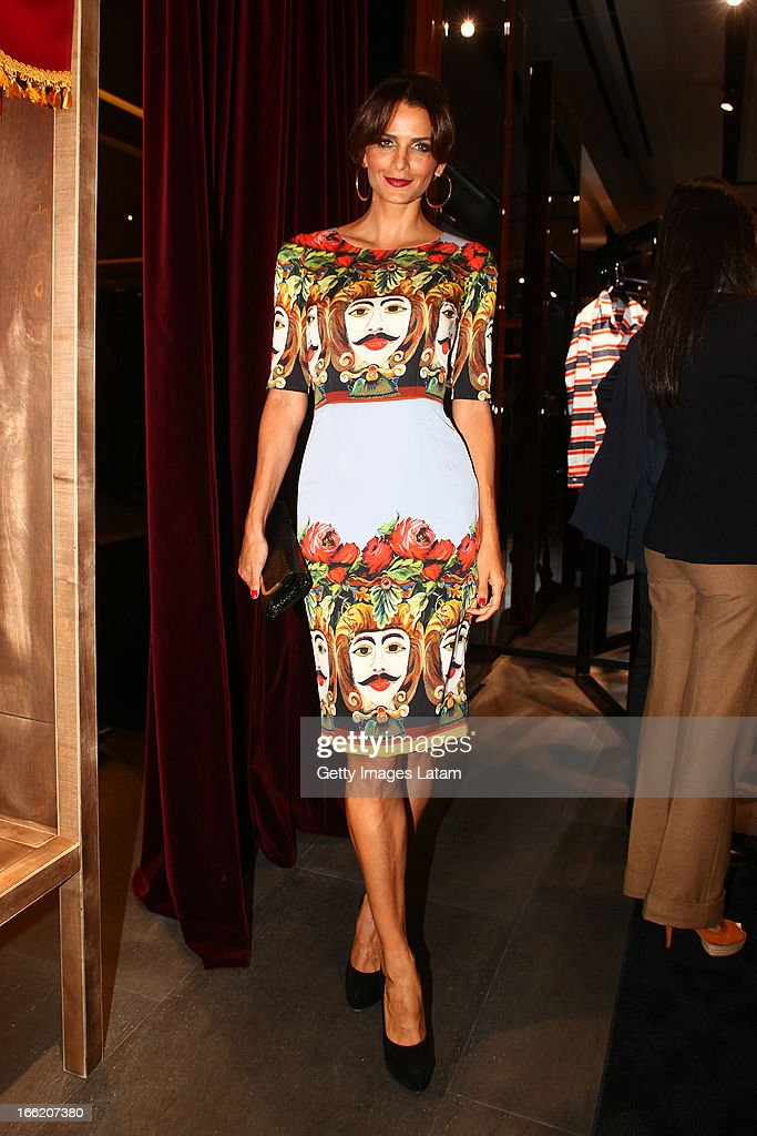<a gi-track='captionPersonalityLinkClicked' href=/galleries/search?phrase=Fernanda+Motta&family=editorial&specificpeople=574877 ng-click='$event.stopPropagation()'>Fernanda Motta</a> attends Dolce&Gabbana cocktail party on April 9, 2013 in Sao Paulo, Brazil.