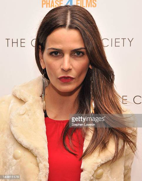 Fernanda Motta attends the Cinema Society Phase 4 Films screening of 'Hick' at the Crosby Street Hotel on May 3 2012 in New York City