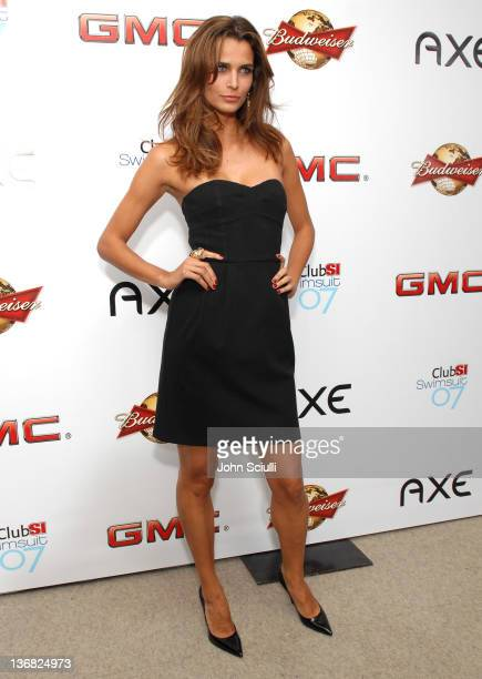 Fernanda Motta during 2007 Sports Illustrated Swimsuit Issue Red Carpet at Pacific Design Center in Los Angeles California United States