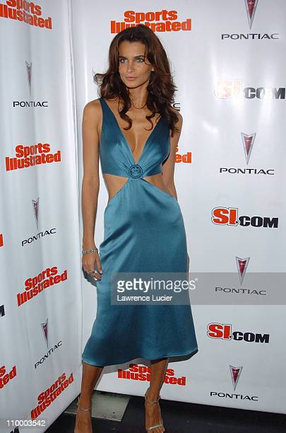 Fernanda Motta during Sports Illustrated 2005 Swimsuit Issue Press Conference at AER Lounge in New York City New York United States
