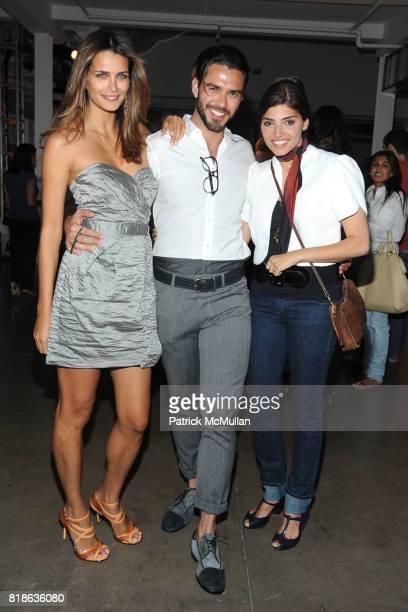 Fernanda Motta Lorenzo Martone and Amanda Setton attend MELISSA Plastic Dreams Rooftop Party at MILK Penthouse on June 8 2010 in New York City