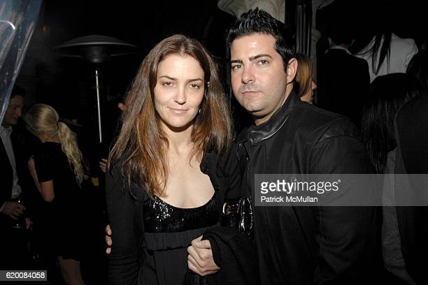 Fernanda Niven and Jonas Miller attend NICOLAS BERGGRUEN's Annual Party at Chateau Marmont at Chateau Marmont on February 20 2008 in Los Angeles CA