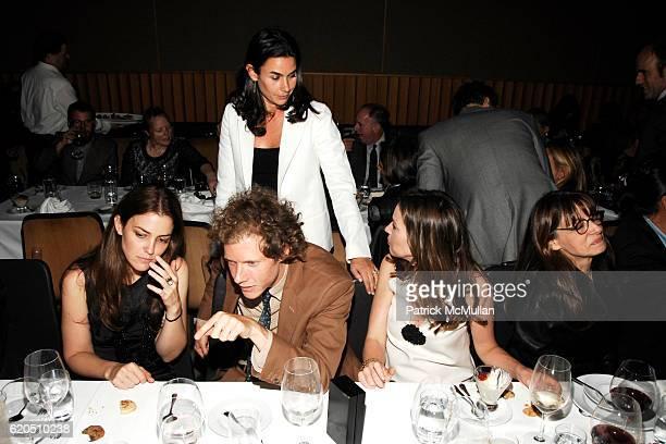 Fernanda Niven Jake Paltrow Charlotte Sarkozy Samantha Boardman Rosen and Joan Juliet Buck attend Opening of LIZA LOU's 'Maximum Security Fence' at...