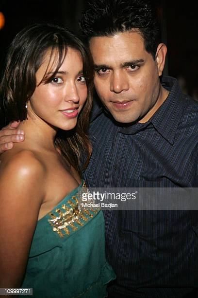 Fernanda Romero and Raul JuliaLevy during LA Fashion Week Wrap Party hosted by Meghan Fabulous and Niki Shadrow at Cabana Club in Los Angeles...