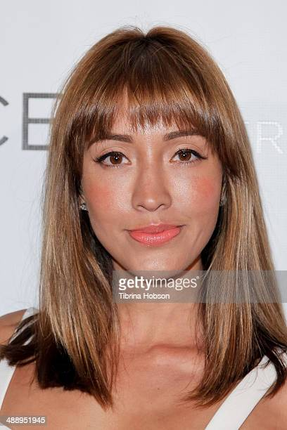 Fernanda Romero attends the Nylon Magazine May young Hollywood issue party at Tropicana Bar at The Hollywood Rooselvelt Hotel on May 8 2014 in...