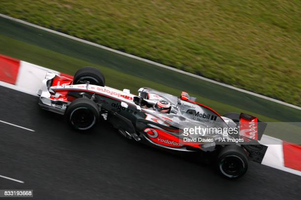 Fernando Alonso McLaren Mercedes