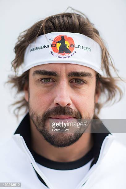 Fernando Alonso of McLaren and Spain during the Formula One Grand Prix of Russia at Sochi Autodrom on October 11 2015 in Sochi Russia