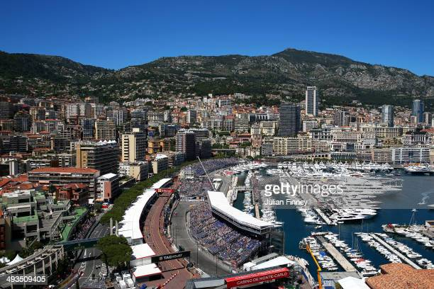 Fernando Alonso of Spain and Ferrari drives during qualifying ahead of the Monaco Formula One Grand Prix at Circuit de Monaco on May 24 2014 in...