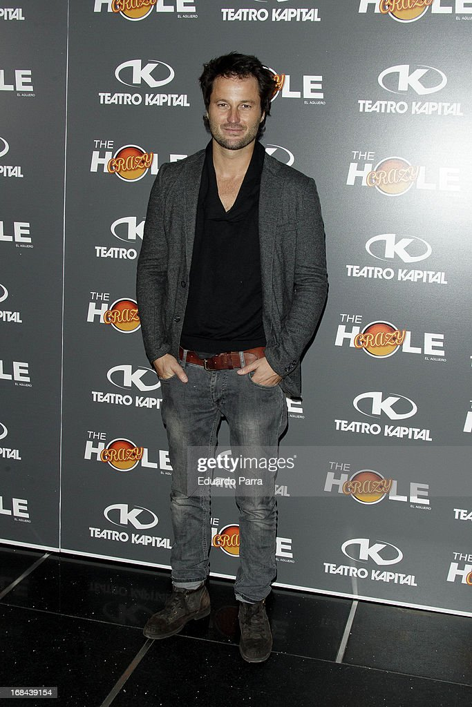 Fernando Andina attends 'The crazy hole' premiere photocall at Kapital theatre on May 9, 2013 in Madrid, Spain.