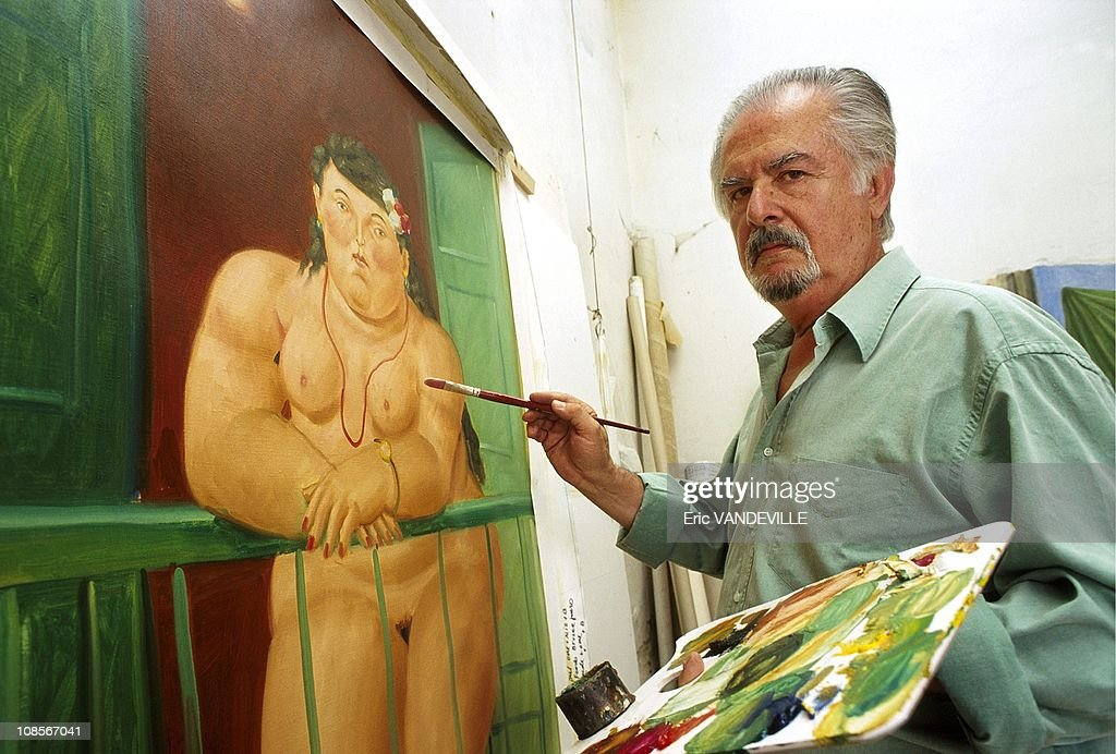 <a gi-track='captionPersonalityLinkClicked' href=/galleries/search?phrase=Fernando+Botero&family=editorial&specificpeople=593546 ng-click='$event.stopPropagation()'>Fernando Botero</a> at his house in Pietrasanta, Italia in June , 1999.