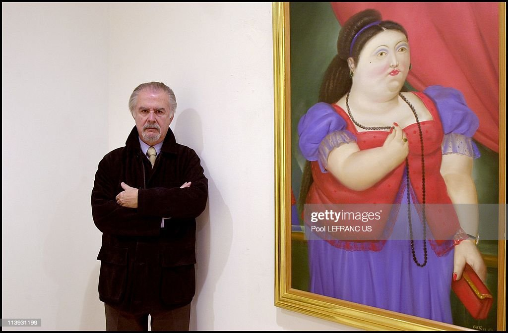 <a gi-track='captionPersonalityLinkClicked' href=/galleries/search?phrase=Fernando+Botero&family=editorial&specificpeople=593546 ng-click='$event.stopPropagation()'>Fernando Botero</a> In New York city, United States On December 12, 2000-<a gi-track='captionPersonalityLinkClicked' href=/galleries/search?phrase=Fernando+Botero&family=editorial&specificpeople=593546 ng-click='$event.stopPropagation()'>Fernando Botero</a> is at the 'Marlborough Gallery' at a reception and book signing to celebrate the publication of '<a gi-track='captionPersonalityLinkClicked' href=/galleries/search?phrase=Fernando+Botero&family=editorial&specificpeople=593546 ng-click='$event.stopPropagation()'>Fernando Botero</a>: Monograph and Catalogue Raisonne, 1975_1990'.
