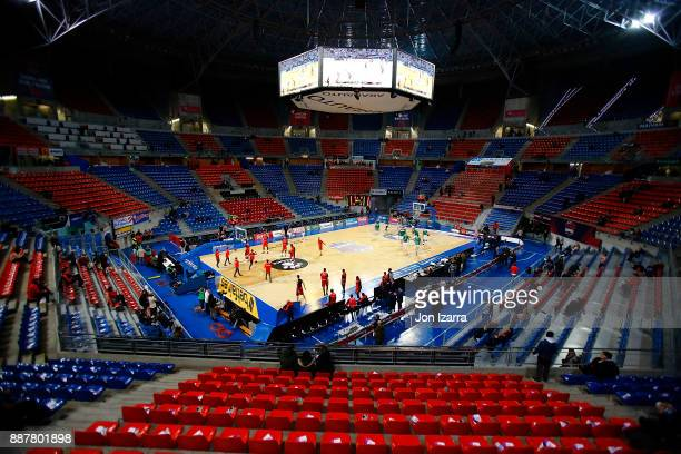 Fernando Buesa Arena during the 2017/2018 Turkish Airlines EuroLeague Regular Season Round 11 game between Baskonia Vitoria Gasteiz and Unicaja...