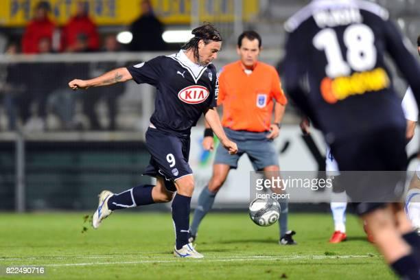 Fernando CAVENAGHI Auxerre / Bordeaux 9eme journee de Ligue 1 Stade Abbe Deschamps Auxerre