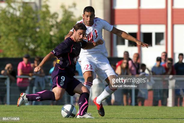 Fernando CAVENAGHI / Adil RAMI Bordeaux / Lille Match amical Anglet
