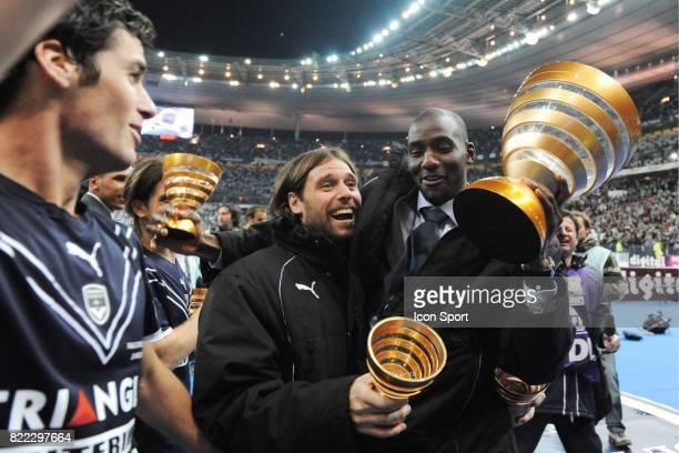 Fernando CAVENAGHI / Alou DIARRA Bordeaux / Vannes Finale Coupe de la Ligue Stade de France Paris