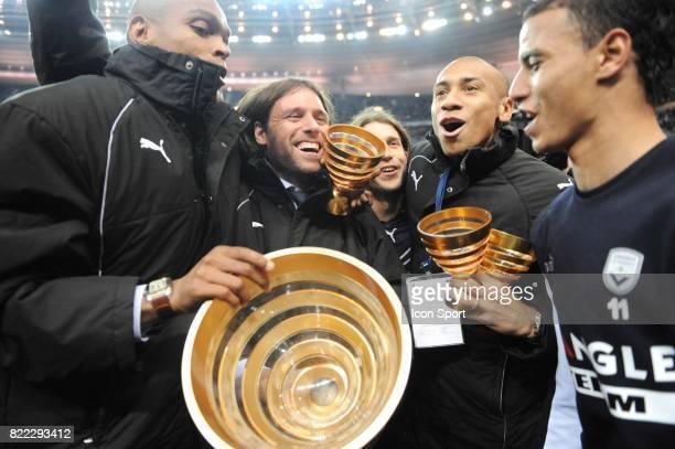 HENRIQUE / Fernando CAVENAGHI / Diego PLACENTE / JUSSIE / Marouane CHAMAKH Bordeaux / Vannes Finale Coupe de la Ligue Stade de France Paris